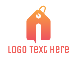 Orange House - Orange Tag House logo design