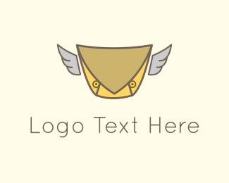 Sms - Bird Mail logo design