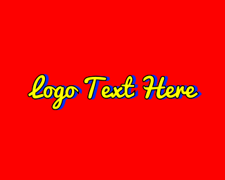 Word - Bright Playful Script Wordmark logo design