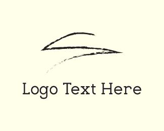 Pencil - Black Sketch logo design