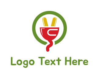 Peace - Peace Plug logo design
