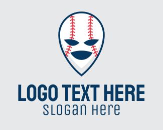 """""""Baseball Softball Mascot """" by town"""