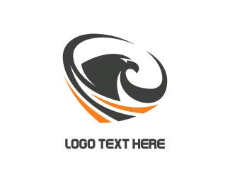 Hawk - Eagle Tornado logo design
