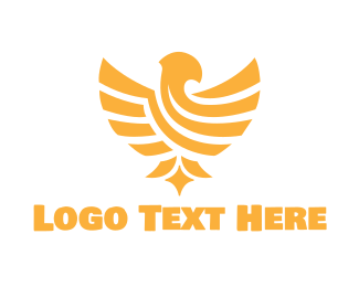 Leadership - Golden Eagle logo design