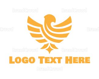 Fortune - Golden Eagle logo design