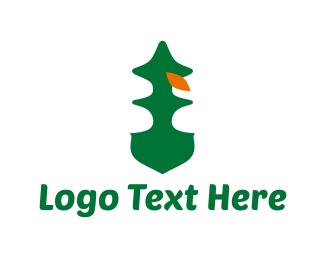 Evergreen - Pine Tree logo design