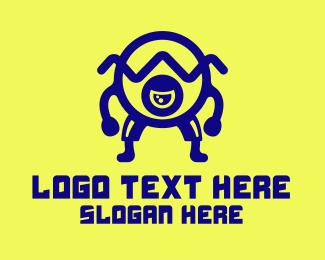 Esports - Esports Cartoon Monster logo design