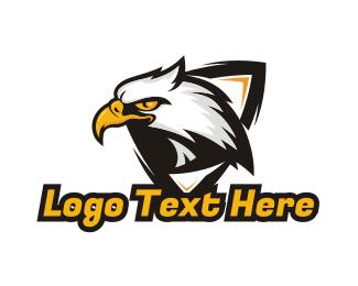 Hawk - Hawk Shield Gaming logo design