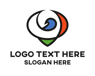 Pigeon - Minimalist Pigeon logo design