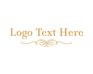"""Elegant Gold Wordmark"" by brandcrowd"