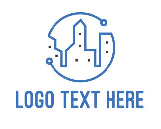 Building - Tech City Buildings logo design
