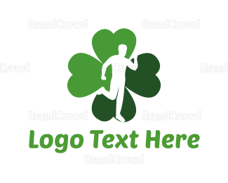 Cross Country - Lucky Run logo design