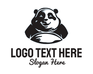 Chinese - Happy Panda logo design