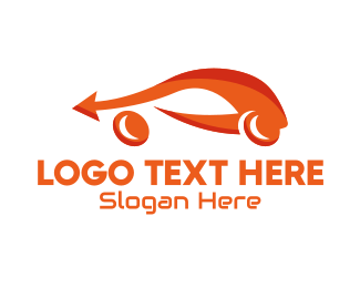 Automotive - Modern Fast Car logo design