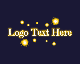 Luminous - Magical Lights Wordmark logo design