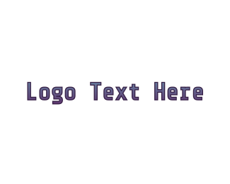 Minimalist - Digital Minimalist Text logo design