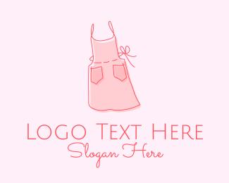 Simplistic - Dressmaker Apron  logo design