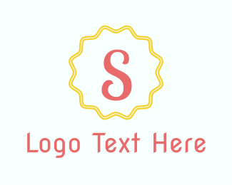 Exclamation Mark - Letter S Stamp logo design