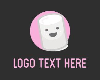 Sweets - Happy Marshmallow logo design
