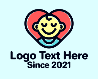 Baby Boutique - Baby Heart logo design