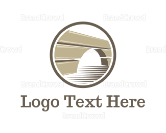 Build - Brown Bridge logo design
