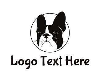 Puppy - French Bulldog logo design