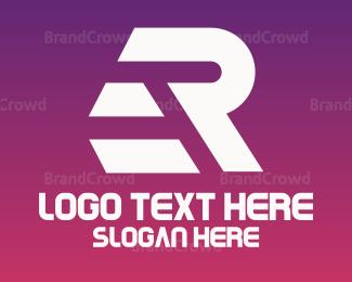 Retail - White Sporty ER logo design