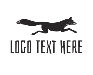 Fox - Black Fox logo design