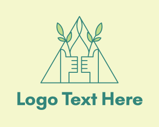 Sprout - Eco Friendly Thumbs Up  logo design