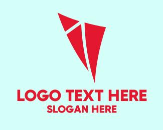 Red Triangle Kite Logo