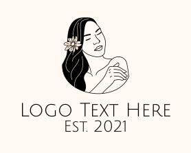 Maiden - Wellness Beauty Salon logo design