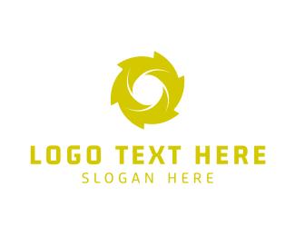Breathwork - Green Spiral logo design
