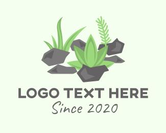 Pebble - Garden Landscaping logo design
