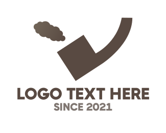 Smoking - Quote Pipe logo design