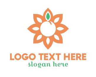 Peaceful - Yoga Sun logo design