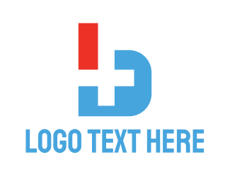 Addition - Modern B Medical  logo design