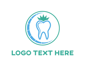 King - Tooth King logo design