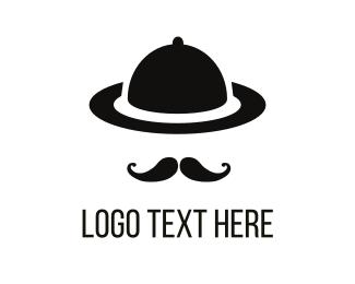 Sir - Gentleman Tray logo design