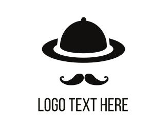 Tray - Gentleman Tray logo design