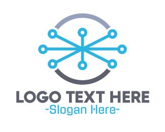 Plumber - Wired Circle logo design