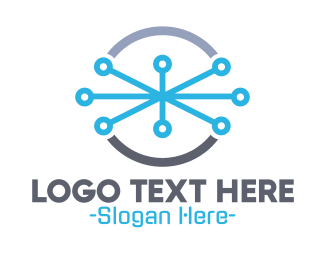 Wire - Wired Circle logo design
