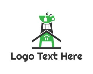 Oil Company - Tea Factory logo design