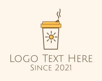 Breakfast - Morning Breakfast Coffee logo design