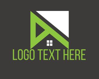 Roofing - Green Roof logo design