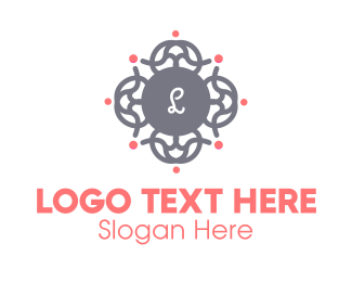Spa Wreath Lettermark Logo