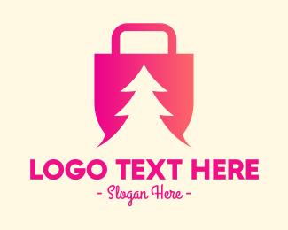 Pine Tree Shopping  Logo