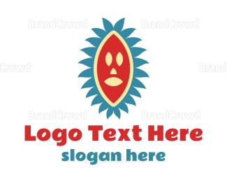 Cultural - African Mask logo design