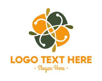 Pattern - Abstract Flower Pattern logo design