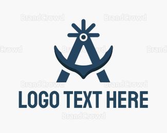 Sailing - Arctic Anchor logo design