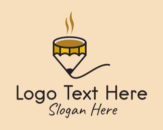 Art - Art Cafe Pencil logo design